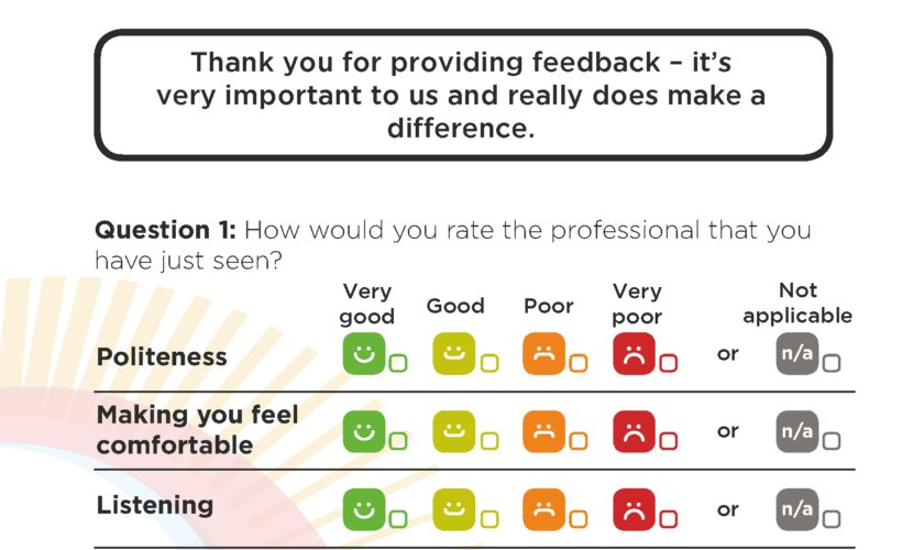 Feedback questionnaire launched